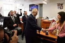 Prezident Zeman navštívil Středočeský kraj