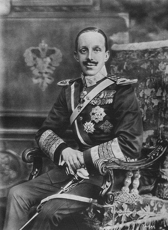 Španělský král Alfons XIII.
