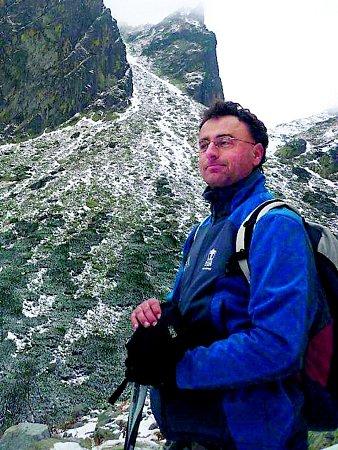 člen vedení Klubu českých turistů Rostislav Kašovský.