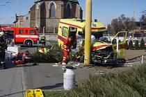 Tragická nehoda sanitky