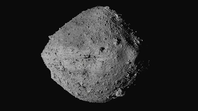 Na snímku NASA je planetka Bennu