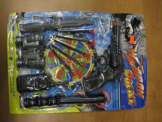 Vojenská sada Weapon Police.