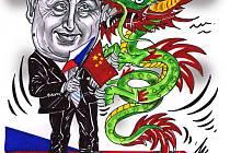 Karikatura Milana Kounovského