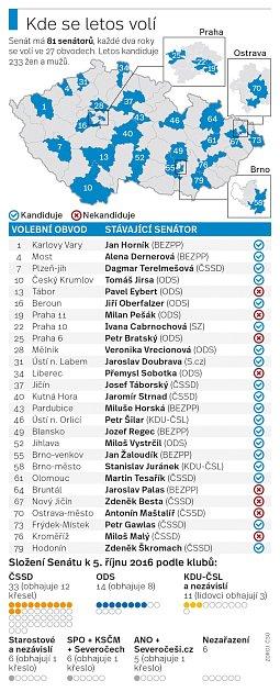 Senátní volby.