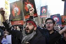 Íránští demonstranti
