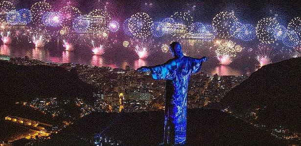 Novoroční oslavy v Rio de Janeiru