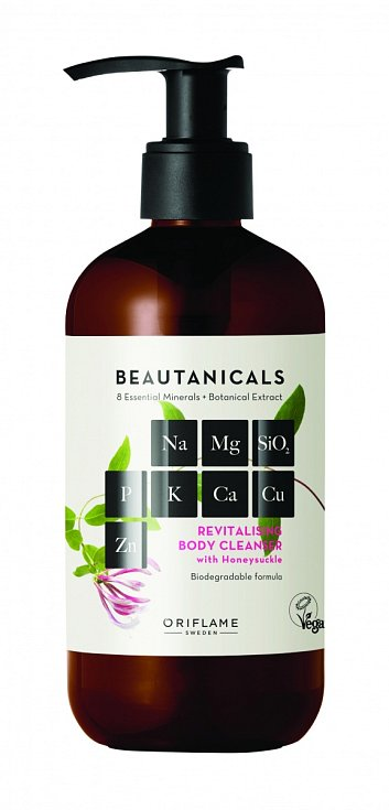Revitalizační sprchový gel Beautanicals, Oriflame.
