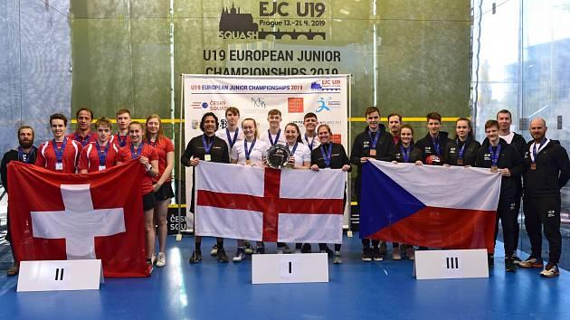K evropskému juniorskému bronzu pomohli také dva brněnští squashisté