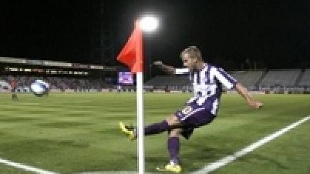 Andreas Lasnik zahrává roh