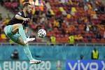 Rakouský fotbalista Marko Arnautovic.