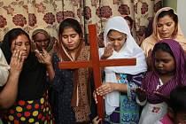 Pákistánští křesťané se modlí za Asii Bibiovou.