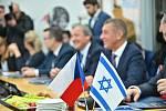 Český premiér Andrej Babiš na návštěvě Izraele