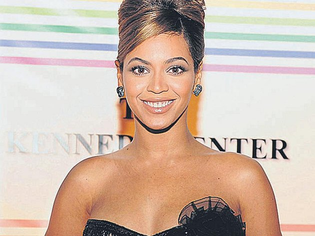 Koncert v dubnu. Americká zpěvačka Beyoncé.