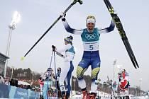 Charlotte Kallaová, skiatlon
