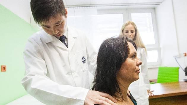Provoz Čínské medicíny ve fakultní nemocnici v Hradci Králové.