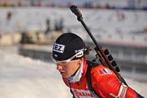 Česká biatlonistka Veronika Vítková.