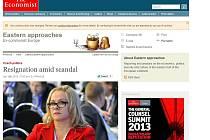 Britský The Economist píše o českém skandálu