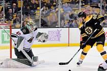 David Pastrňák se zařadil mezi největší hvězdy Bostonu.