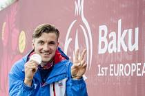 Martin Fuksa se stříbrnou medailí