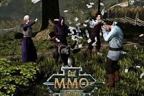 Počítačová hra Goat MMO Simulator.