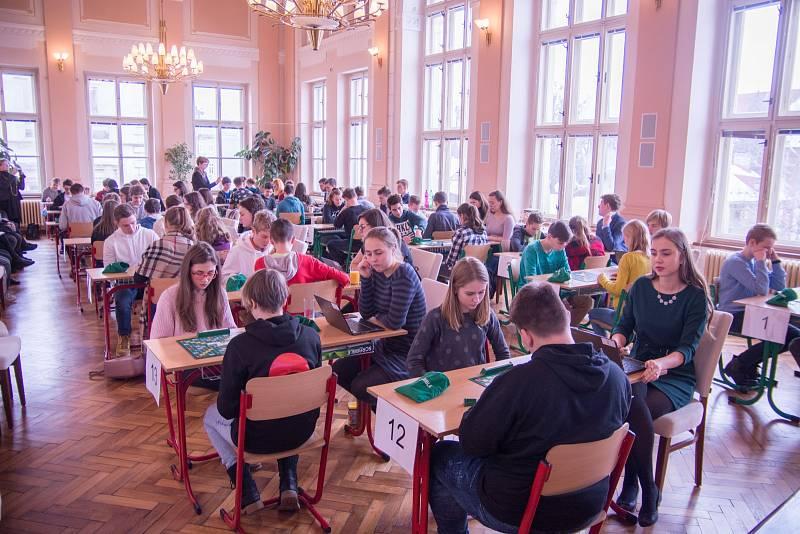 Gymnázium v Příboře - turnaj ve Scrabblu