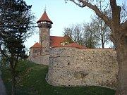 hrad Hněvín nad Mostem