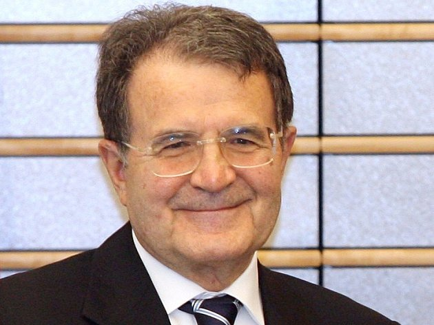 Italský premiér Romano Prodi.