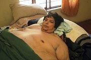 Mexičan Jose Luis Garza dokázal přibrat až na 450 kilogramů.