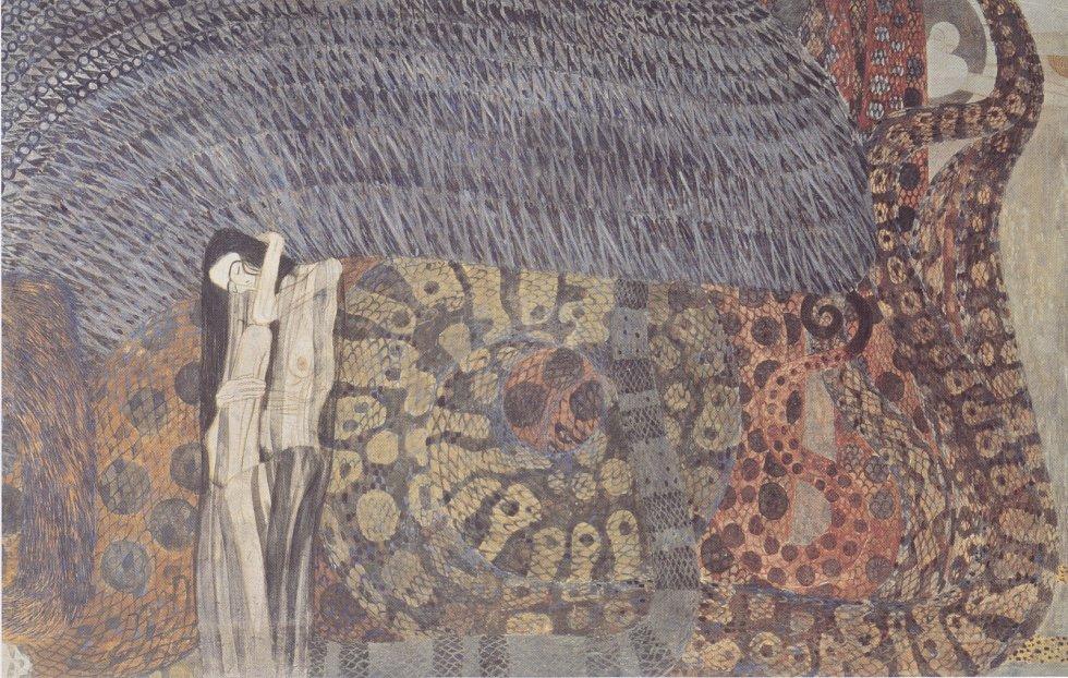 Gustav Klimt: Trýznivý smutek