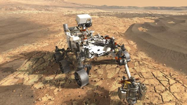Vozítko Mars 2020 se zúčastní nadcházející vesmírné mise