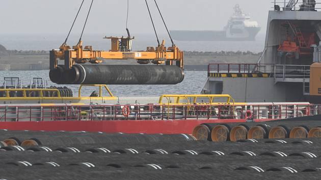 Plynovod Nord Stream 2. Ilustrační foto.