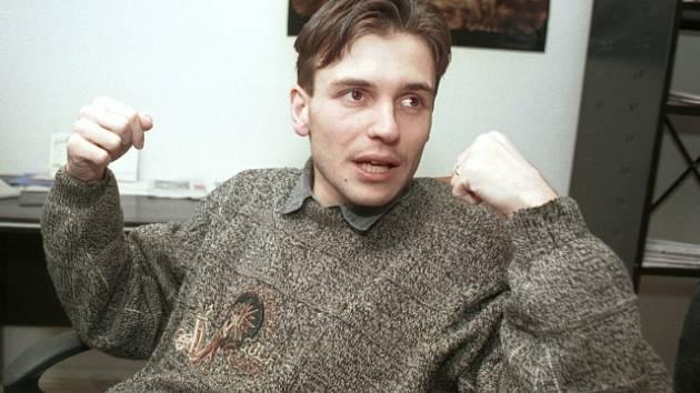 Peter Tóth na archivním snímku