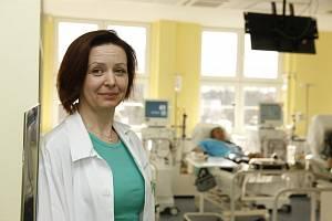Primářka jednoho z dialyzačních středisek B. Braun Avitum v Praze NuslíchHana Novotná