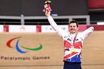 Britský paralympionik Jaco Van Gass.