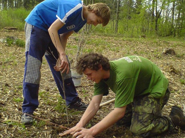 Každý si mohl zasadit svůj strom.