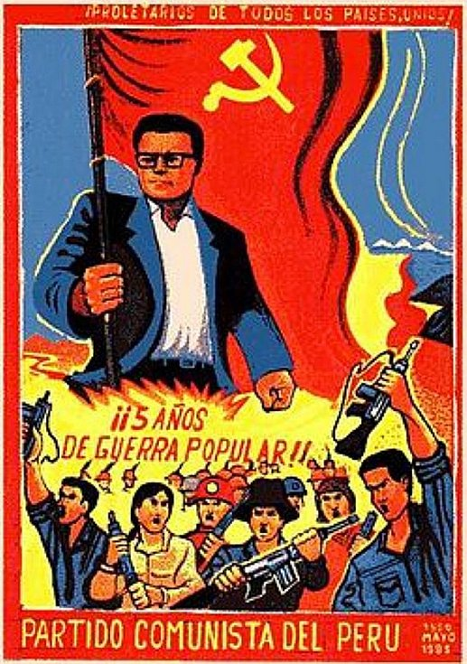 Propagační materiály Guzmánovy Světlé stezky