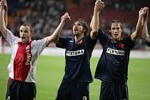 V loňském roce postoupila Slavia do Ligy mistrů přes Ajax. Zopakuje úspěch i letos?