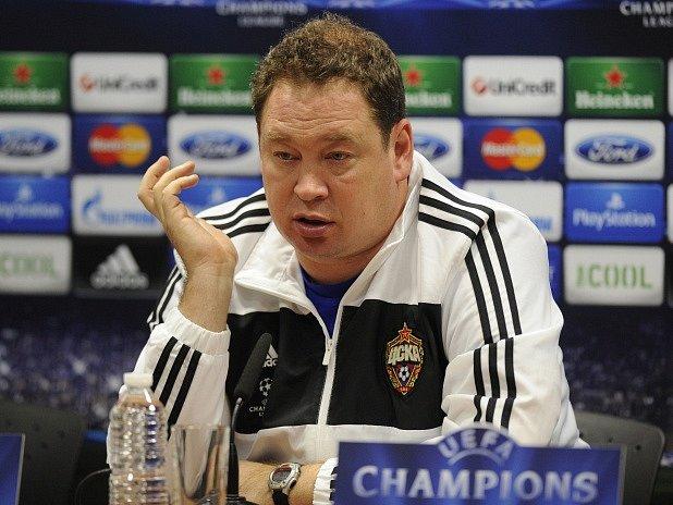 Leonid Sluckij, kouč CSKA Moskva