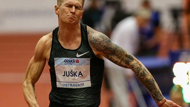 Czech Indoor Gala, mezinárodní halový atletický mítink EA. Radek Juška.