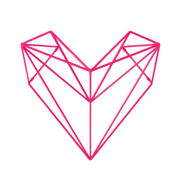 Srdce. Designový věšák Martina Foreta získal prestižní ocenění Red Dot Award