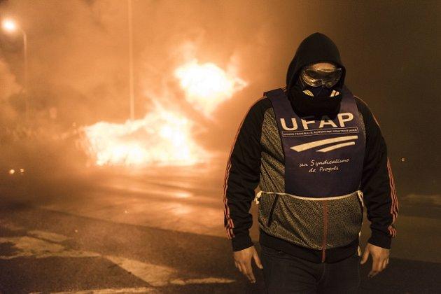 Stávky vězeňských dozorců ve Francii