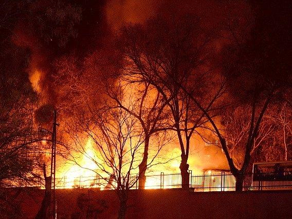 Bombový atentát v Ankaře.