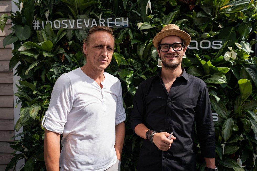Hosté V. Furdík a D. Kraus v IQOS Lounge