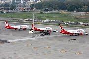 Letadla společnosti Air Berlin