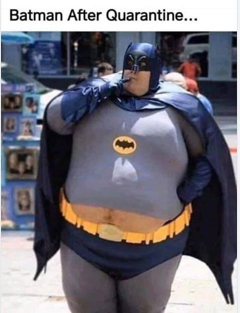 Batman po karanténě…