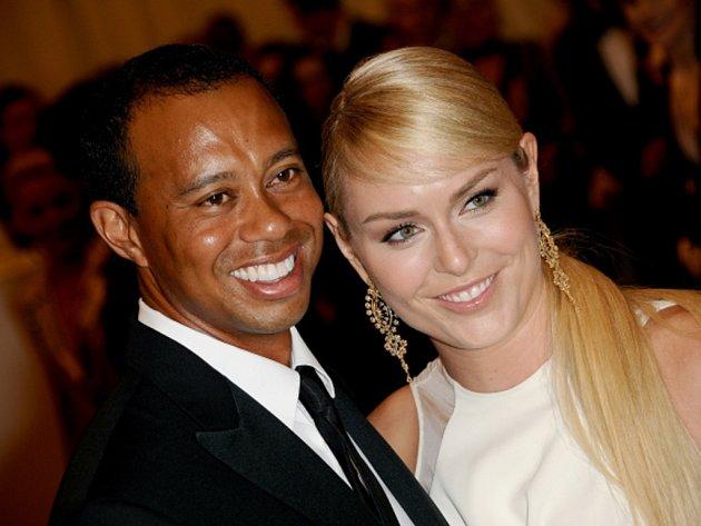 Vztah golfisty Tigera Woodse a lyžařky Lindsey Vonnové vydržel necelé tři roky.