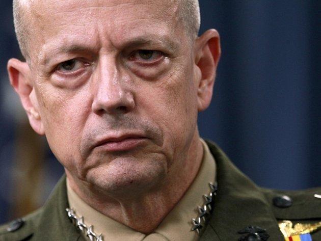 Americký generál John Allen.
