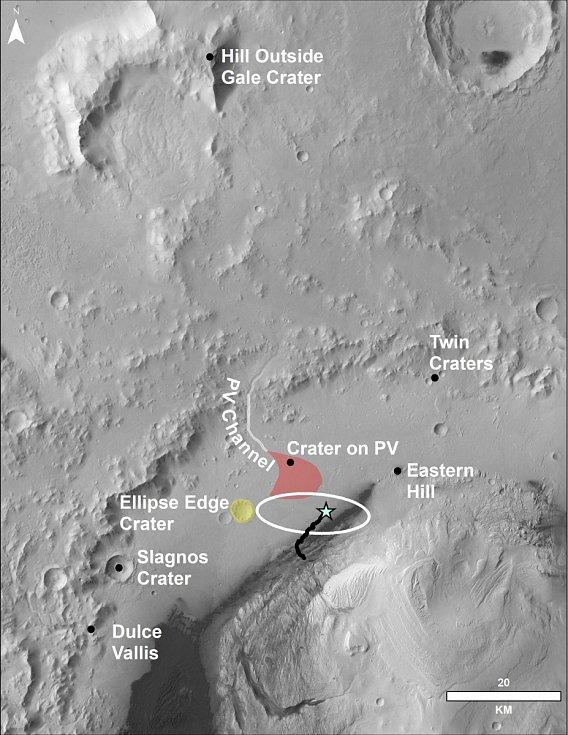 Unikátní snímky Marsu, které zaslala sonda Curiosity