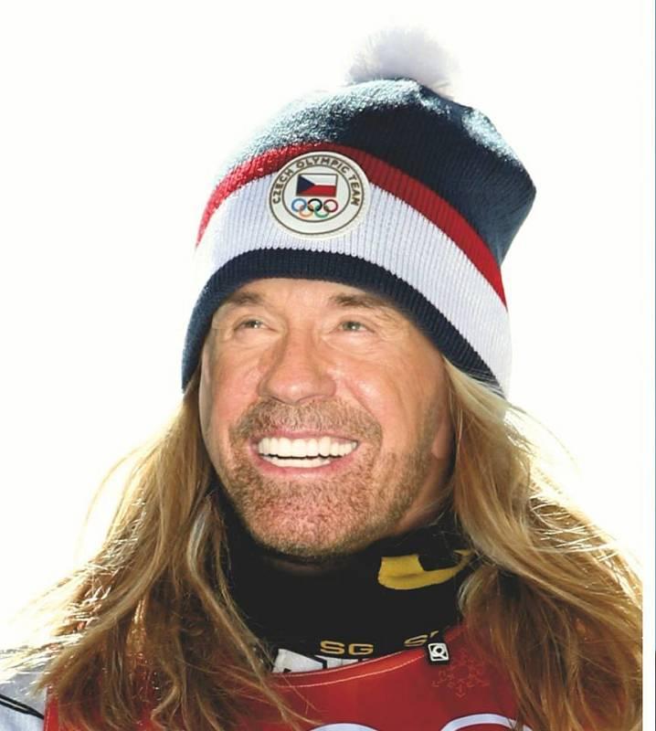 Ve skutečnosti dvě zlata z olympiády nepřivezla Ester Ledecká ale Chuck Norris