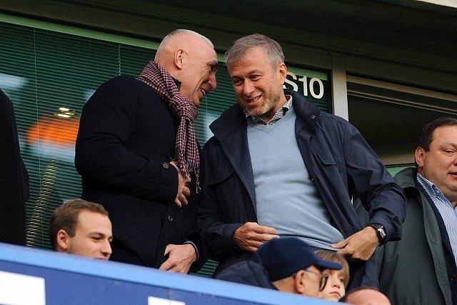 Roman Abramovič si nenechal ujít zápas s United
